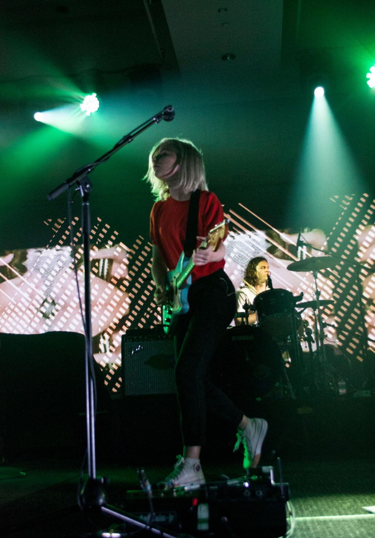 Alvvays performing at the 2015 Sirius XM Indie Awards