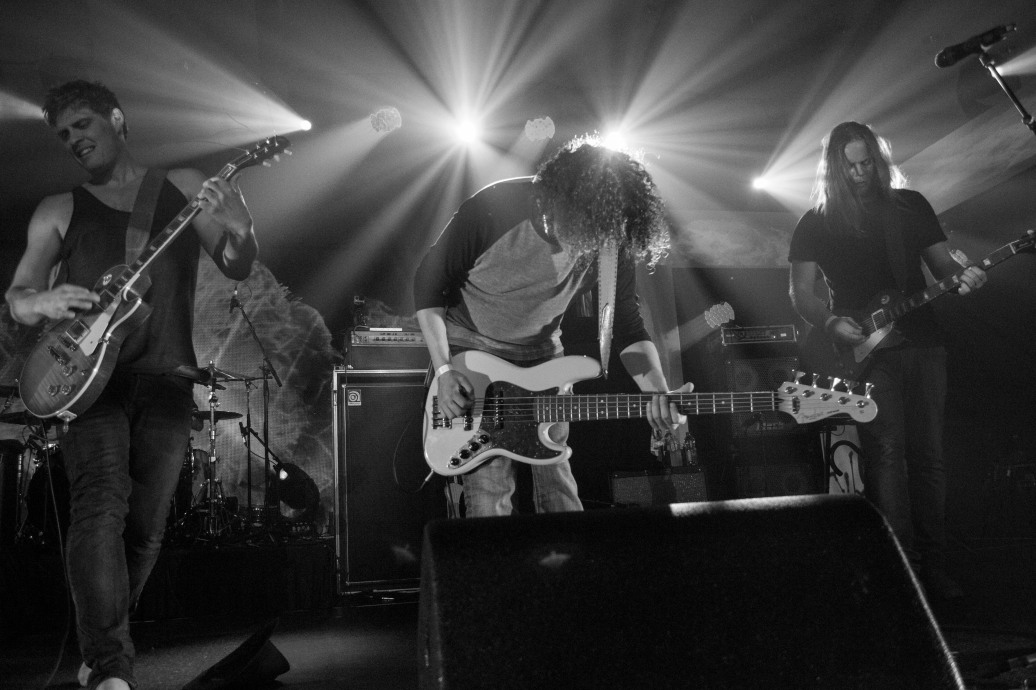The Glorious Sons performing at the 2015 Sirius XM Indie Awards