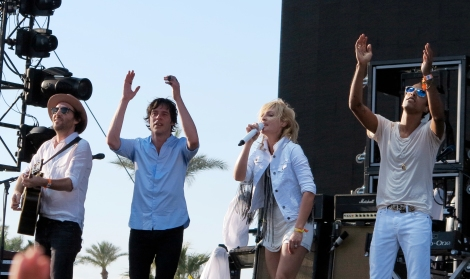 Metric Live at Coachella Music Festival 2013