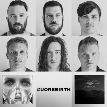"""Underoath's forthcoming """"Rebirth Tour"""" will see the band performing two fan favourite albums (They're Only Chasing Safety, and Define The Great Line) in full."""